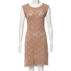 RAQUEL ALLEGRA LACE KNEE-LENGTH DRESS